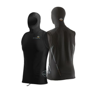 lavacore hooded vest male