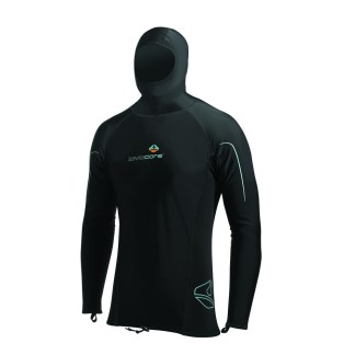 lavacore long sleeve hooded shirt