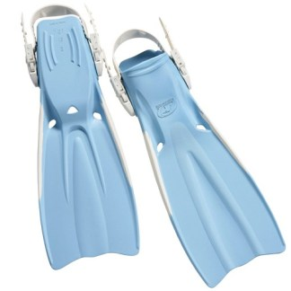 Problue Rubber Vented Fins Soft Blue