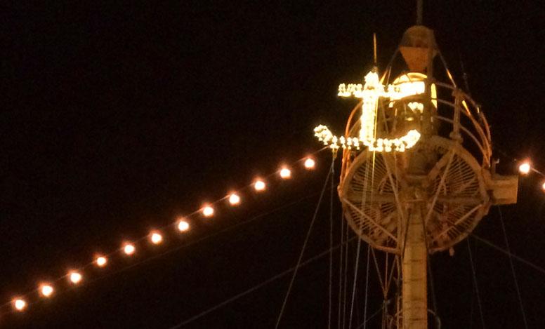 Calabash New Year's Eve Bonfire and Anchor Drop
