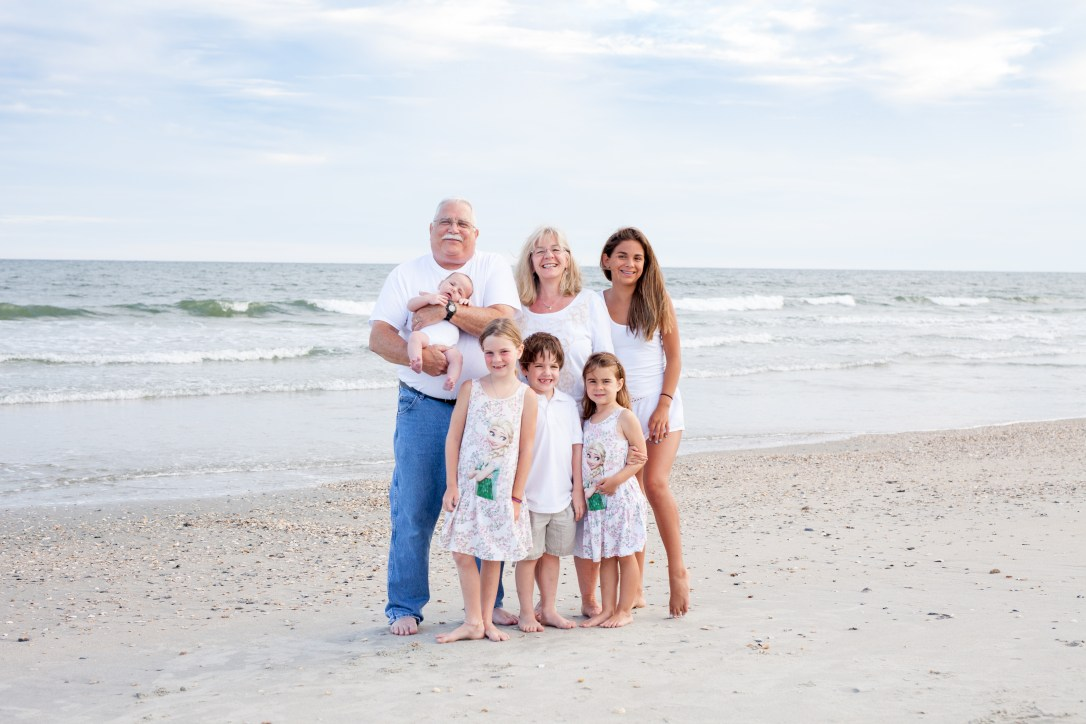 Family photography in Ocean Isle Beach, North Carolina