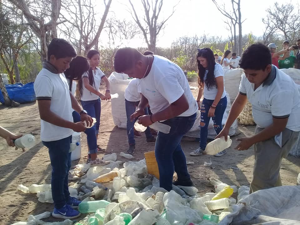 Community of Via Del Mar, Mexico Continue Recycling Efforts