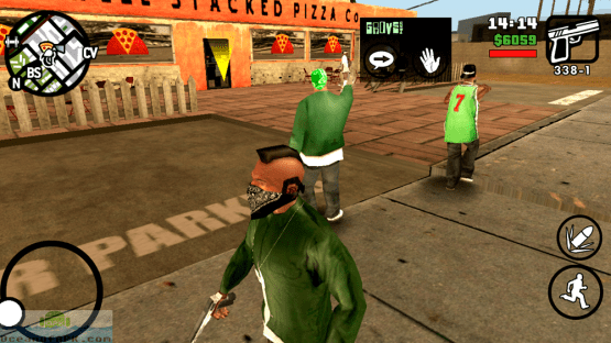 GTA San Andreas for Android Features