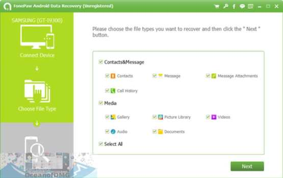 FonePaw Android Data Recovery Offline Installer Download-OceanofDMG.com