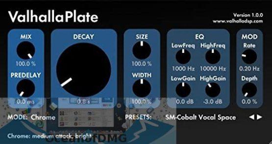 ValhallaDSP Valhalla VintageVerb for Mac Direct Link Download-OceanofDMG.com