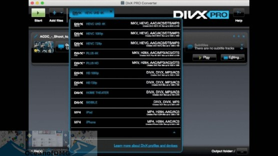 DivX Pro for MacOSX Direct Link Download-OceanofDMG.com