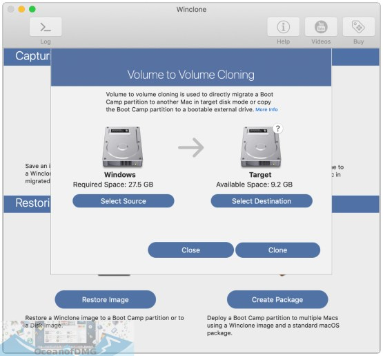 Winclone Pro for Mac Latest Version Download-OceanofDMG.com
