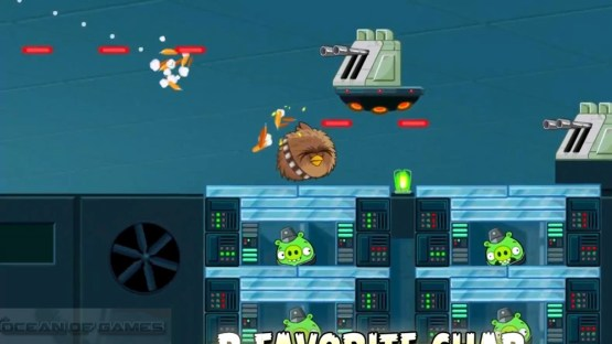 Angry Birds Star Wars Features