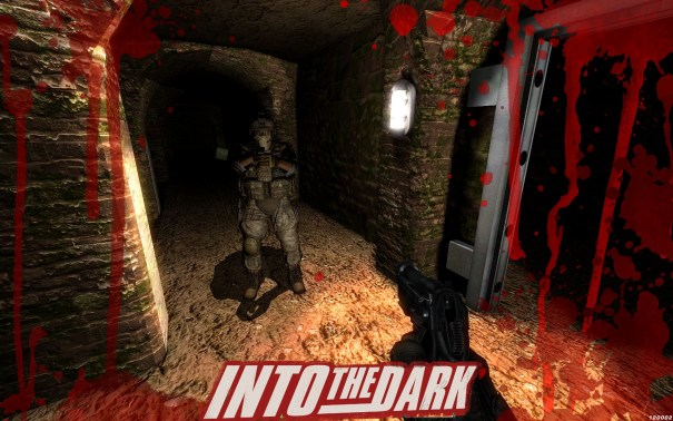 Into the dark logo