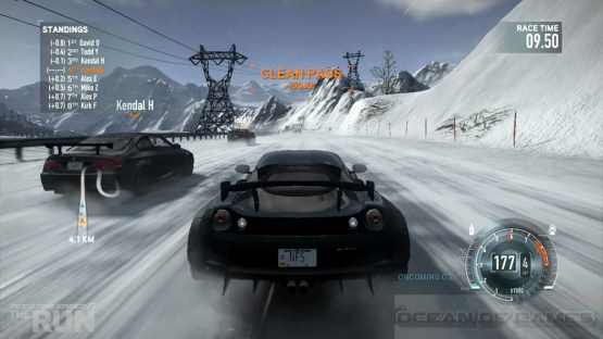 Need for Speed The Run Setup Features
