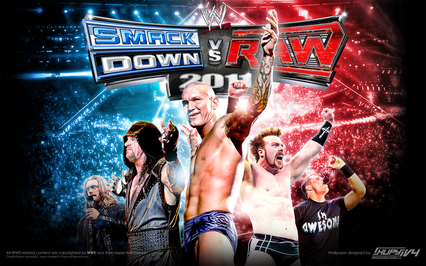 WWE Smackdown Vs Raw Free Download PC Game