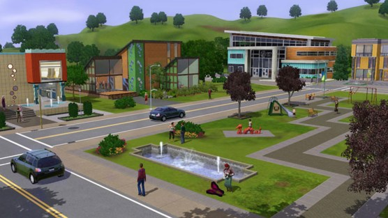 The Sims 3 Town Life