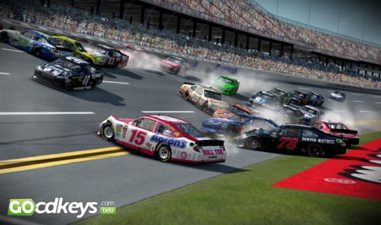 NASCAR 14 features
