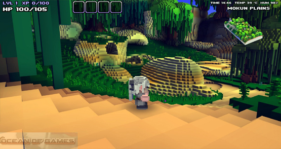 Cube World Features