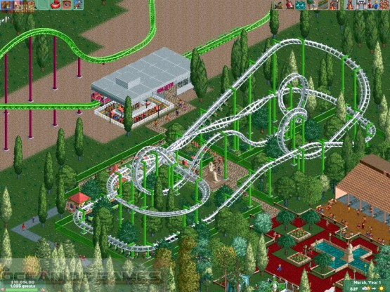 Roller Coaster Tycoon 2 Features
