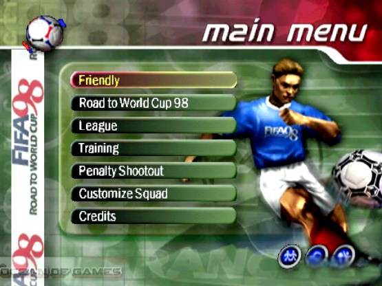 FIFA 98 Road To World Cup Setup Download For Free