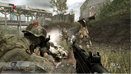 Call of Duty 4 Modern Warfare Features