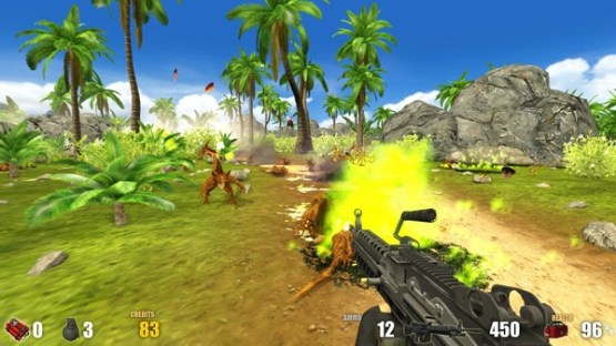 Action Alien Tropical Mayhem Free Download