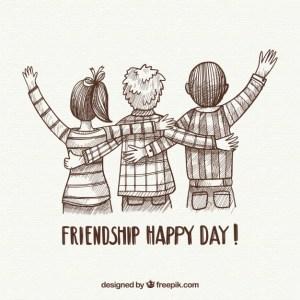 friendship happy day