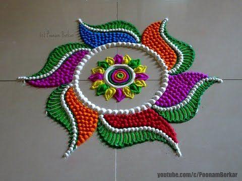 rangoli for dev diwali