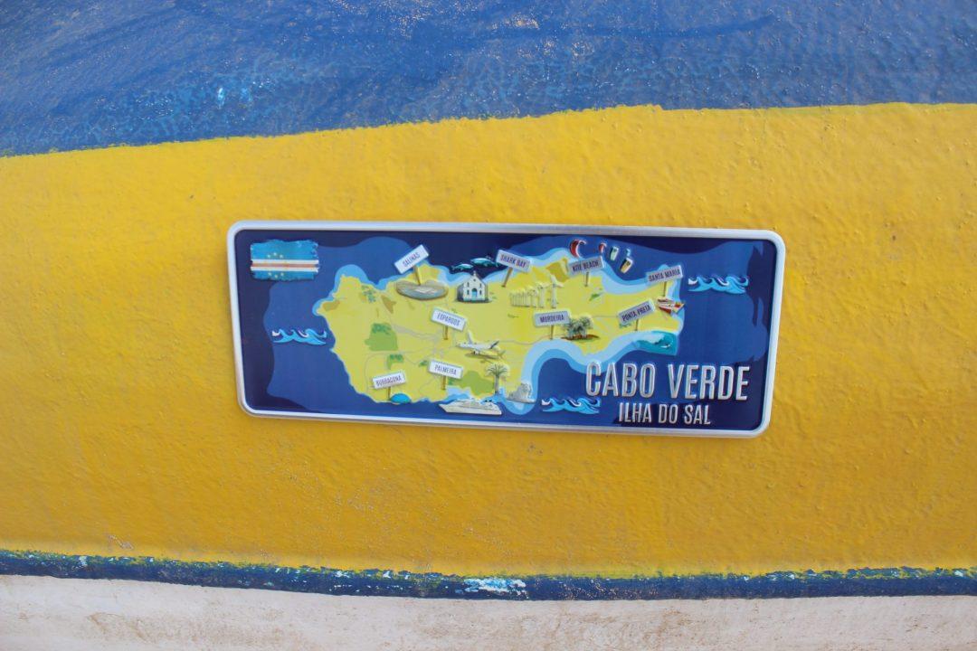 falagueira mapa PREMIUM   Ilha do Sal Mapa | Ocean Plates falagueira mapa