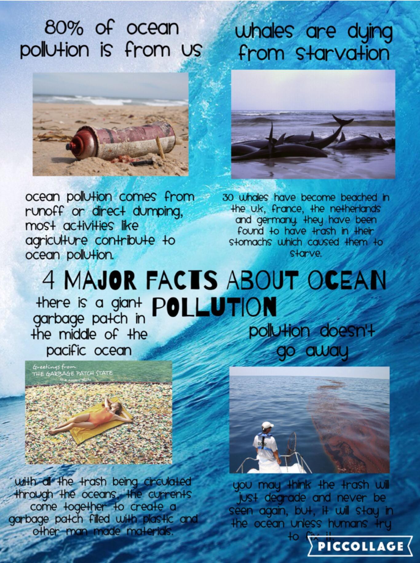 April Ocean Pollution
