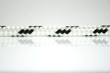 Ocean Rope Braid on Braid Black Fleck