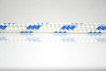 Ocean Rope Braid on Braid Blue Fleck