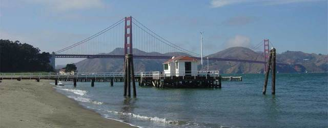 ​The image aboves shows the NOAA San Francisco Tide Station, in operation for more than 150 years.