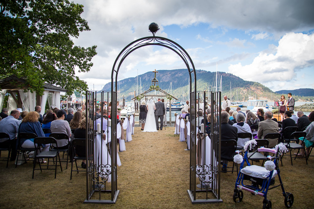Cowichan Bay Wedding