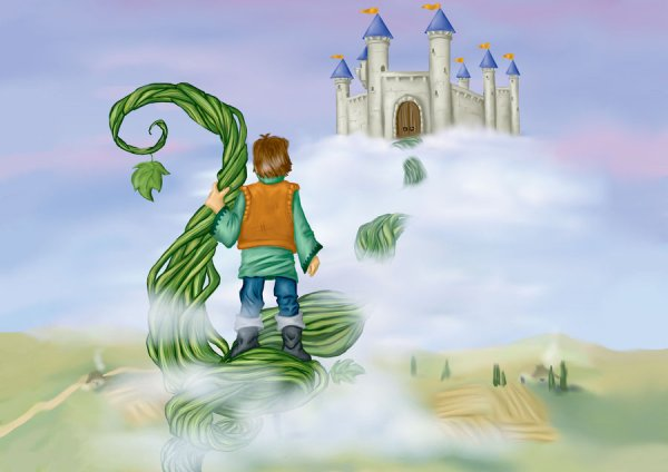 Your seed is about to be a beanstalk that reaches Heaven ...