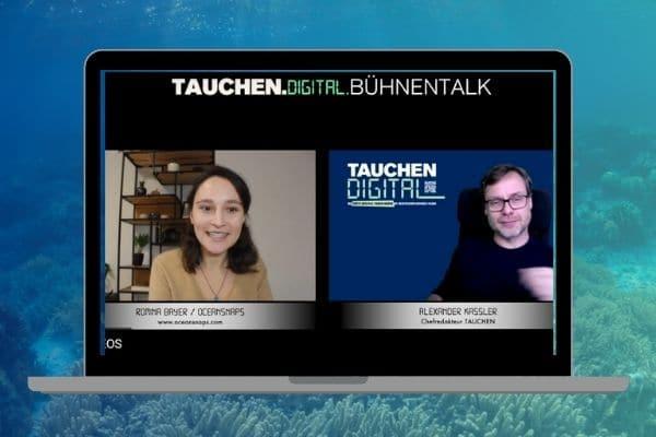 Underwater Photography Webinar Tauchen Interview