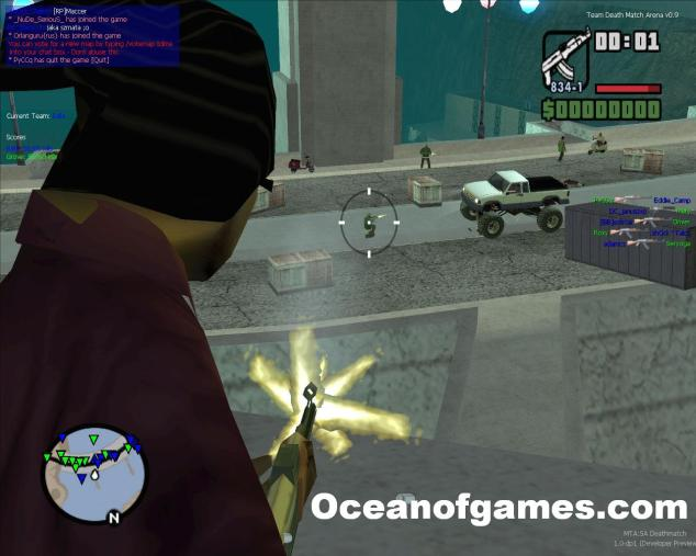 Ocean of Games Gta San Andreas