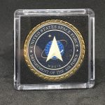 US Space Force/USAF Commemorative Coin-Gold Plated w/Case AF-30