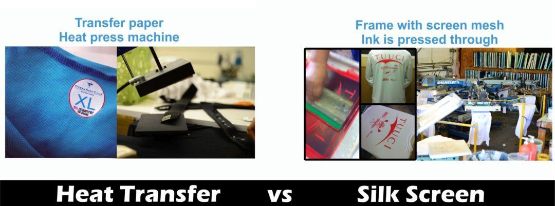 heat transfer vs silk