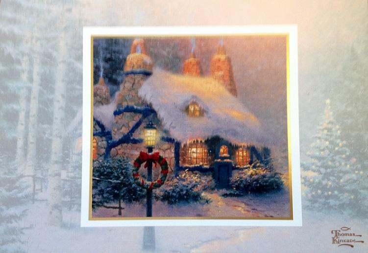 Thomas Kinkade Christmas Cards At Ocean Treasures