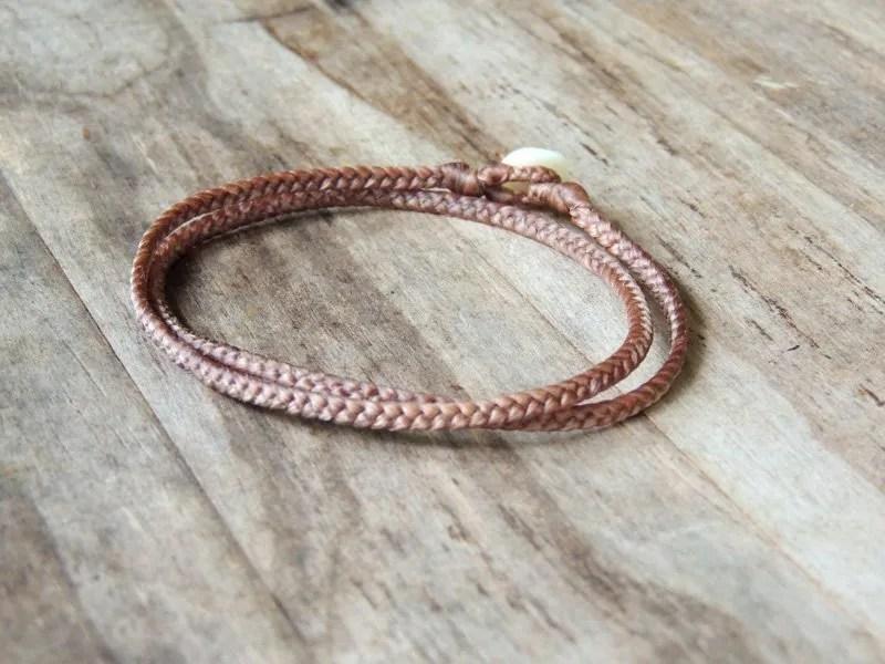Ocean Tuff Jewelry - 3-Way Wrap Braided Necklace