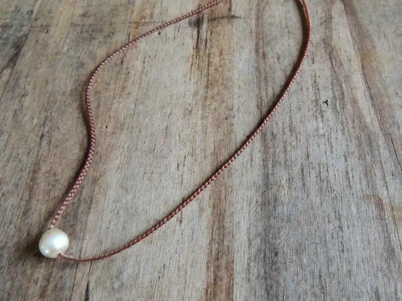 Ocean Tuff Jewelry - Freshwater Pearl Choker-Style Necklace