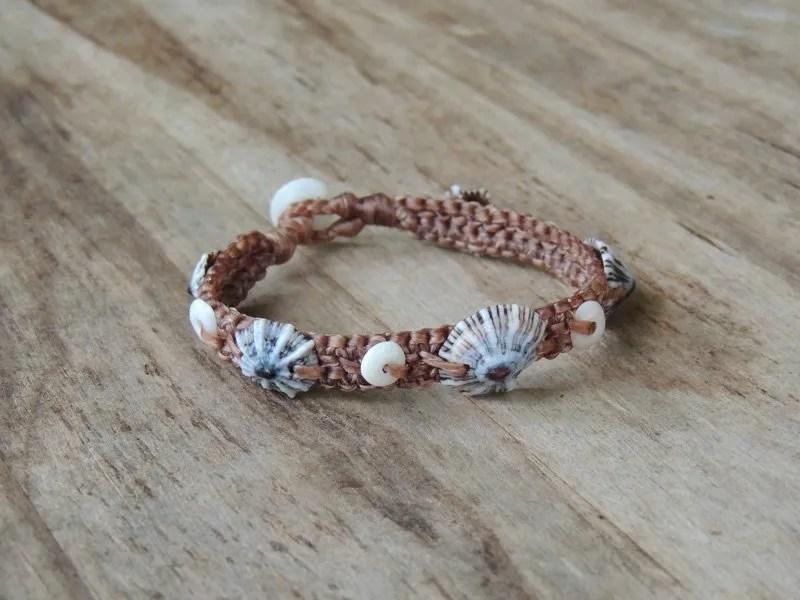 Ocean Tuff Jewelry - Opihi & Puka Shell Bracelet