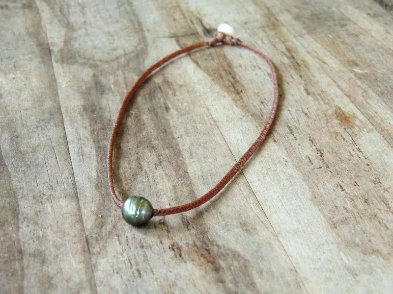 Ocean Tuff Jewelry - Tahitian Pearl Choker-Style Necklace