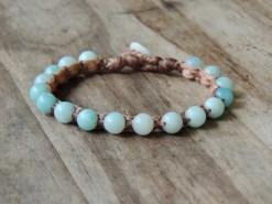 Ocean Tuff Jewelry - Blue Amazonite Bracelet