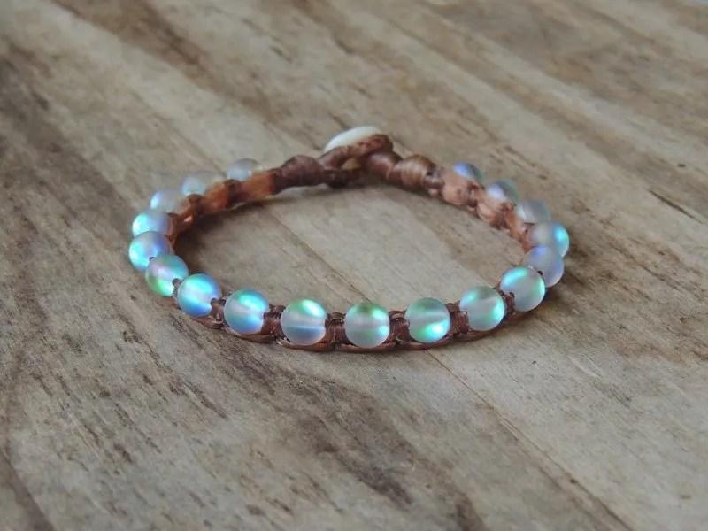 Ocean Tuff Jewelry - Aqua Aura Quartz Bracelet