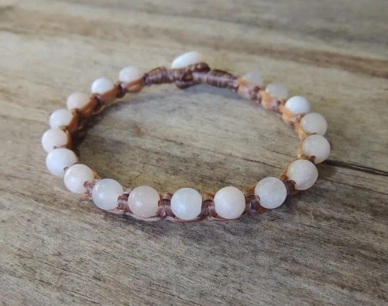 Ocean Tuff Jewelry - Pink Aventurine Bracelet