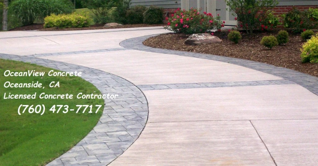 Oceanside concrete contractor