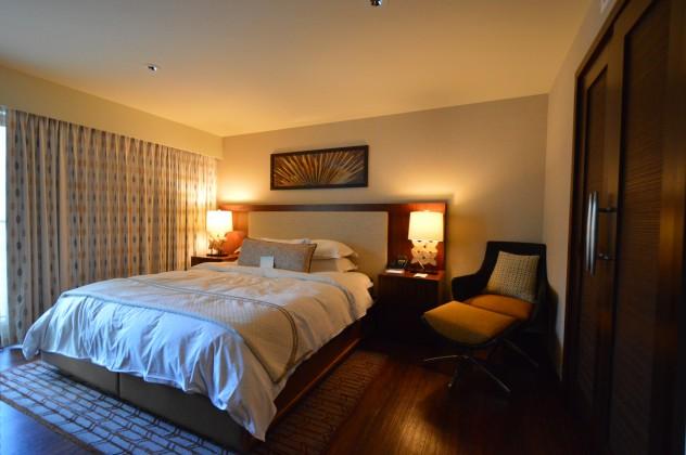 Hilton Hokulani bedroom - timeshare resale in hawaii