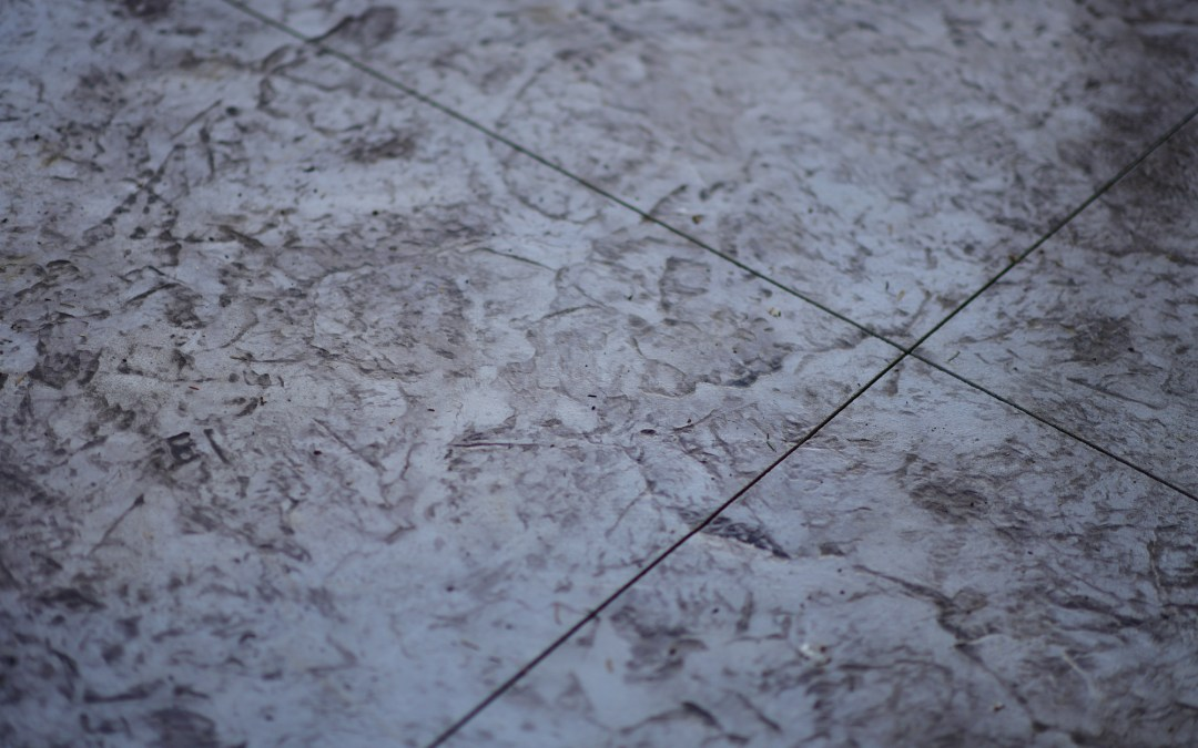 Concrete stamping texture mat with border in Rockaway, Manzanita, Lincoln City, and Newport.