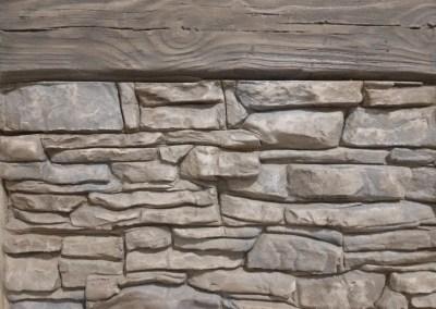 Vertical & Horizontal Overlays restoring concrete Flagstone, Brick, Mountain Dry Stack