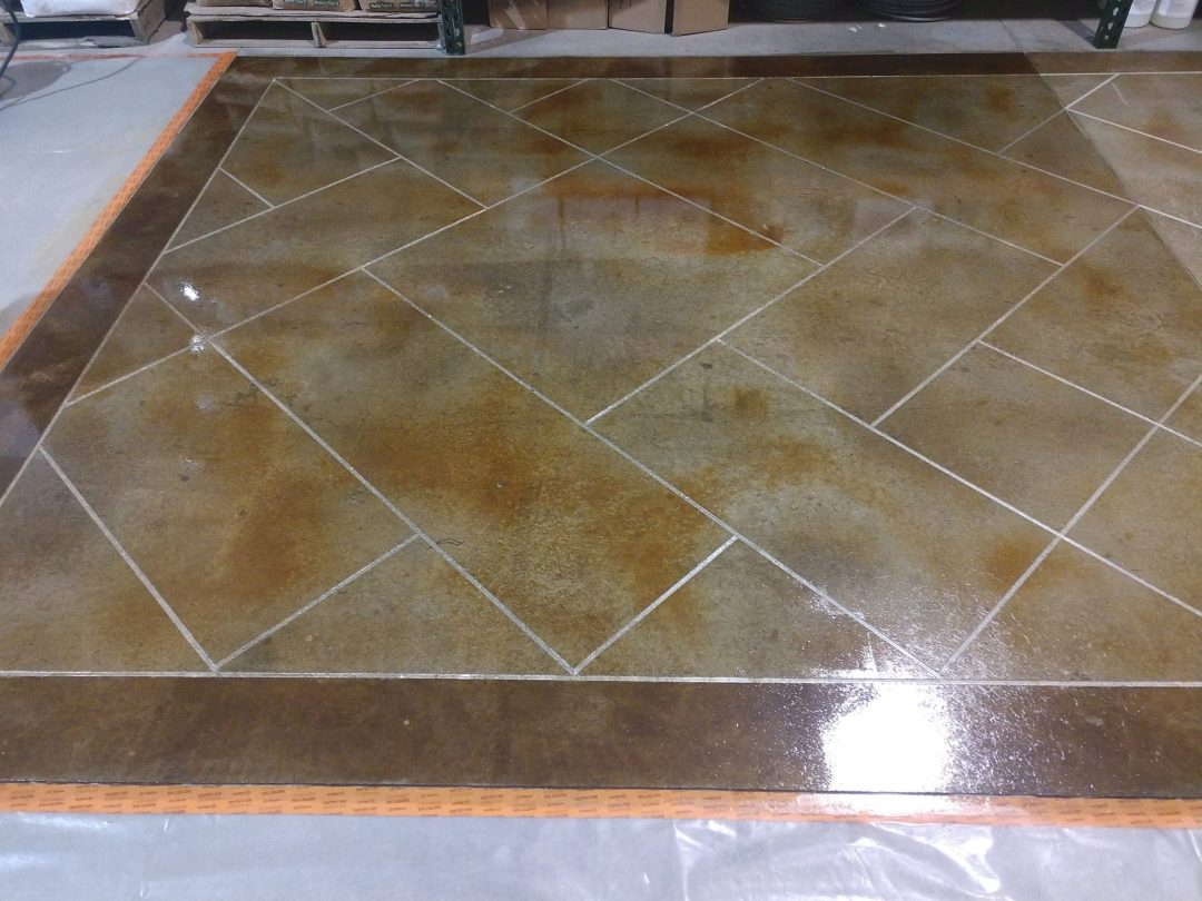 Decorative Concrete Stain & Seal Oregon Coast Contractor