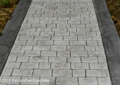 Cobblestone Concrete Stamping Pacific Northwest Concrete Contractor