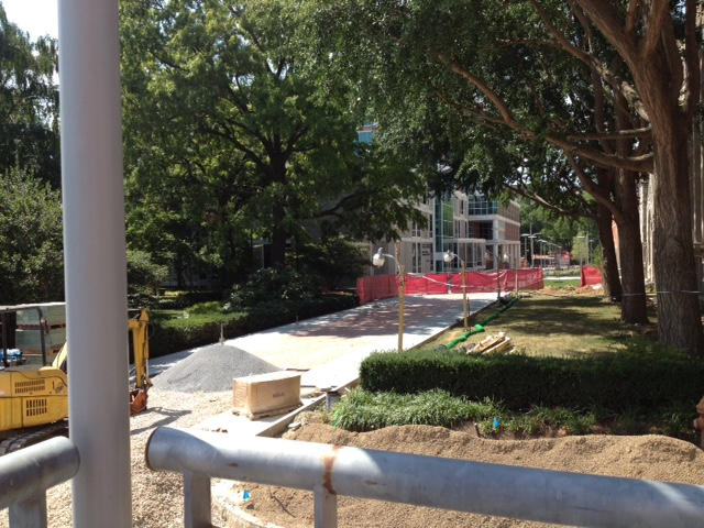 A Tour Of The Summer Construction Projects Around Temple